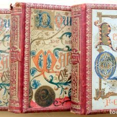 Libri antichi: QUIJOTE ED. SEIX 1898 VOL I Y II + RESTAURACION DE F.ORTEGO - INC LITOGRAFIAS/ILUSTRACIONES EN COLOR. Lote 195920478