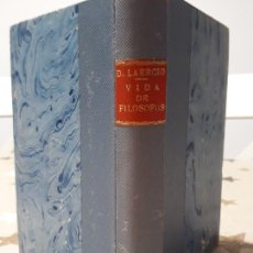 Libros antiguos: LIBRO DIOGENES LAERCIO VIDAS, OPINIONES Y SENTENCI. Lote 196534678