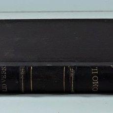 Libros antiguos: BIBLIOTECA ILUSTRADA DE TRILLA Y SERRA. TOMO II. JULIO VERNE. BARCELONA.. Lote 196576406
