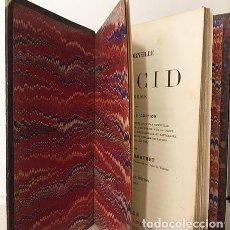 Libros antiguos: CORNEILLE : LE CID. TRAGÈDIE. (C 1870. HOLANDESA ÉPOCA) CID CAMPEADOR. Lote 196766266