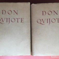 Libros antiguos: EL INGENIOSO HIDALGO DON QUIJOTE DE LA MANCHA - 2 VOL. - COMPLETO - 1927 - CALLEJA - EDICIÓN SELECTA. Lote 196806511