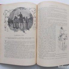 Libros antiguos: LIBRERIA GHOTICA. BELLA EDICIÓN MODERNISTA DEL QUIJOTE DE AVELLANEDA. 1902. FOLIO.MUY ILUSTRADO.. Lote 197054728