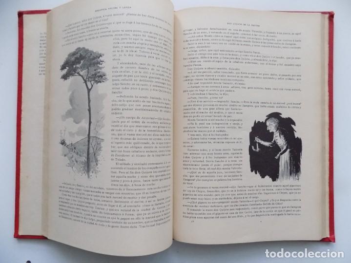 Libros antiguos: LIBRERIA GHOTICA. BELLA EDICIÓN MODERNISTA DEL QUIJOTE DE AVELLANEDA. 1902. FOLIO.MUY ILUSTRADO. - Foto 7 - 197054728