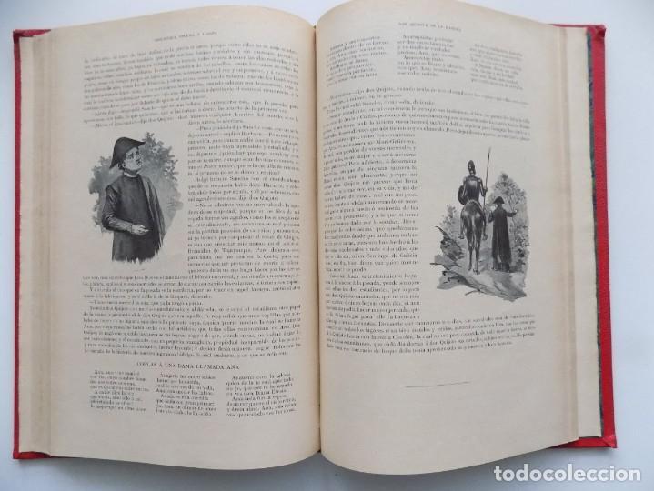 Libros antiguos: LIBRERIA GHOTICA. BELLA EDICIÓN MODERNISTA DEL QUIJOTE DE AVELLANEDA. 1902. FOLIO.MUY ILUSTRADO. - Foto 9 - 197054728