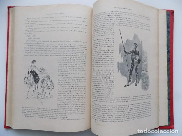 Libros antiguos: LIBRERIA GHOTICA. BELLA EDICIÓN MODERNISTA DEL QUIJOTE DE AVELLANEDA. 1902. FOLIO.MUY ILUSTRADO. - Foto 10 - 197054728