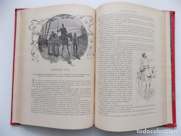 Libros antiguos: LIBRERIA GHOTICA. BELLA EDICIÓN MODERNISTA DEL QUIJOTE DE AVELLANEDA. 1902. FOLIO.MUY ILUSTRADO. - Foto 12 - 197054728
