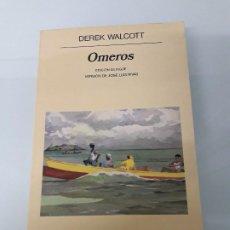 Libri antichi: OMEROS - DEREK WALCOTT - EDICIÓN BILINGÜE - ANAGRAMA - PANORAMA DE NARRATIVAS Nº 308 - 1994. Lote 197206456