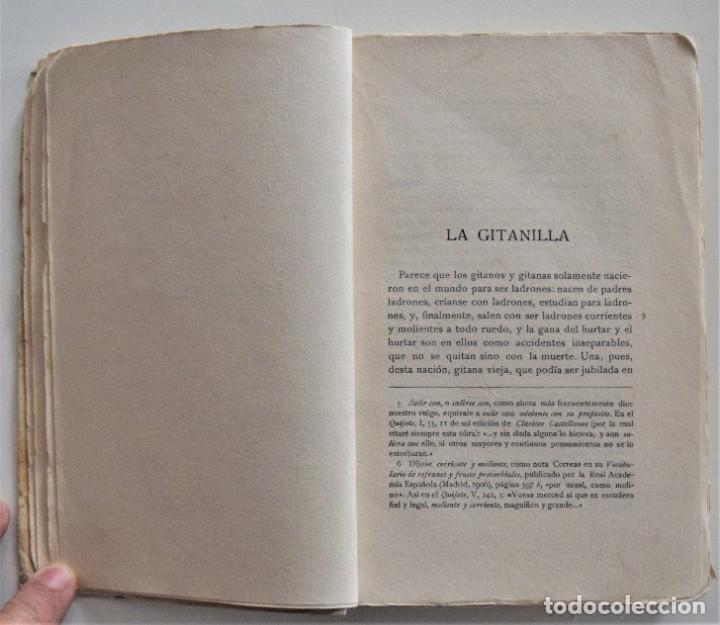 Libros antiguos: CERVANTES, NOVELAS EJEMPLARES 1 - CLÁSICOS CASTELLANOS - EDICIONES DE LA LECTURA 1928 ESPASA 1932 - Foto 7 - 197413513