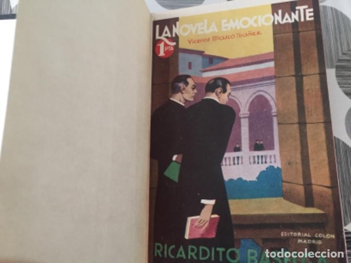 Libros antiguos: La araña negra. Tomo III. Vicente Blasco Ibáñez - Foto 2 - 197415267