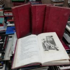 Libros antiguos: LOS MISERABLES. 4 TOMOS . VICTOR HUGO . GASPAR I ROIG EDITORES. EDICIÓN ILUSTRADA. 1863 . UNA JOYA. Lote 197592377