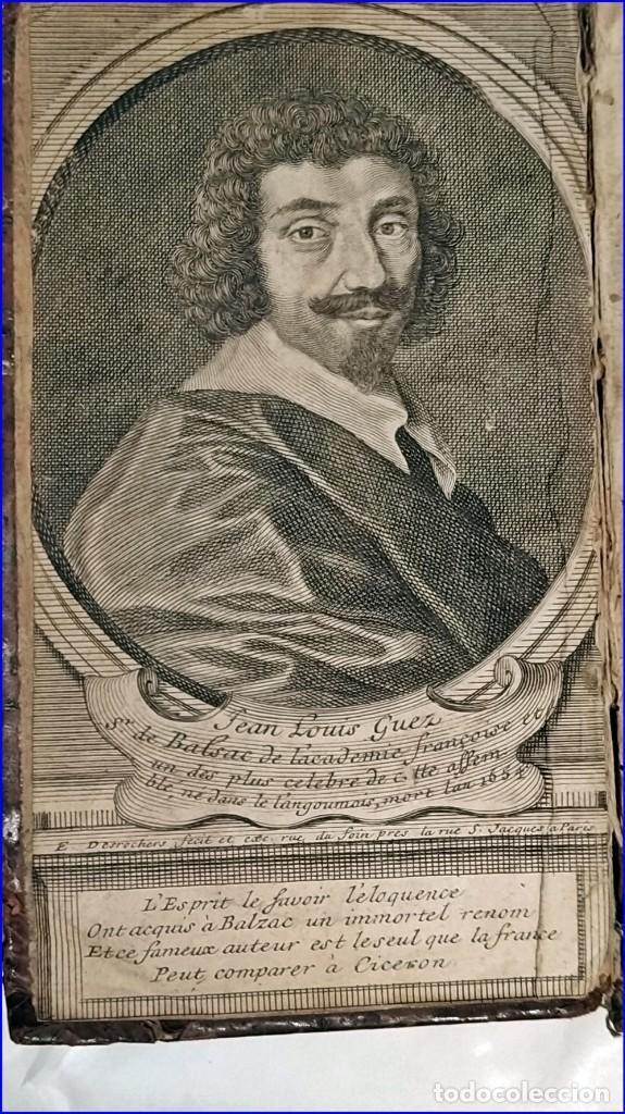 Libros antiguos: AÑO 1659: LAS CARTAS DE BALZAC. - Foto 2 - 197607666