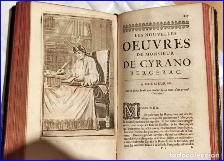 Libros antiguos: AÑO 1710: OBRAS DE CYRANO DE BERGERAC. - Foto 8 - 197608636