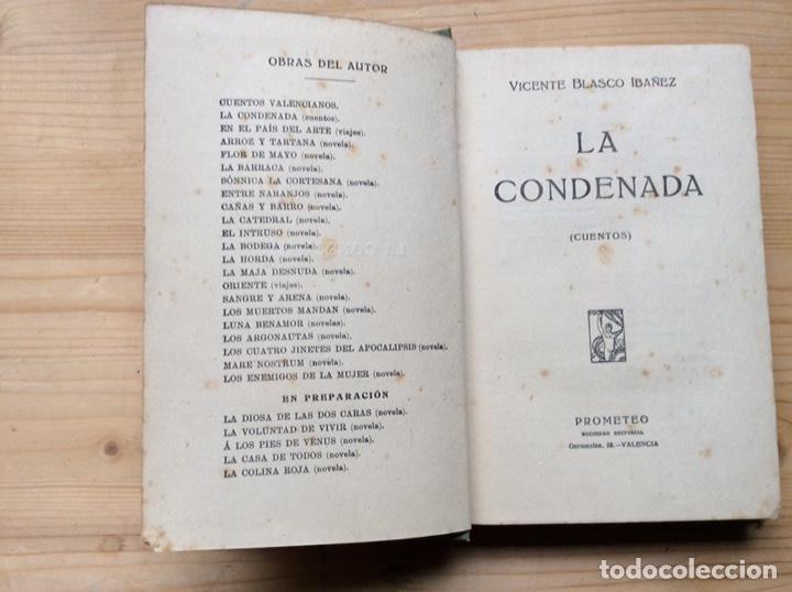 Libros antiguos: LA CONDENADA - Foto 2 - 197780438