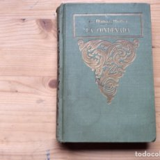 Libros antiguos: LA CONDENADA. Lote 197780438