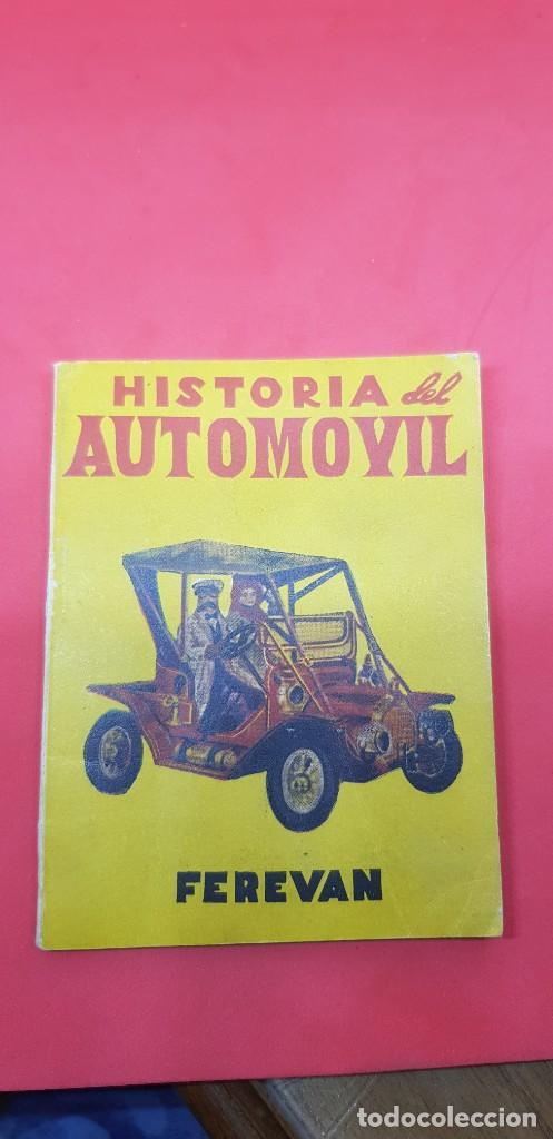 HISTORIA DEL AUTOMOVIL - COLECCION VELETA Nº 33 - EDITORIAL MON LIBRO EN MINIATURA 7,5 X 10,5CMS (Libros antiguos (hasta 1936), raros y curiosos - Literatura - Narrativa - Clásicos)