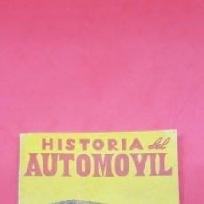 Libros antiguos: HISTORIA DEL AUTOMOVIL - COLECCION VELETA Nº 33 - EDITORIAL MON LIBRO EN MINIATURA 7,5 X 10,5CMS . Lote 197832663
