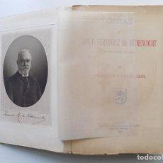 Libros antiguos: LIBRERIA GHOTICA. F. FERNÁNDEZ DE BÉTHENCOURT. PRÍNCIPES Y CABALLEROS.1913.ILUSTRADO.FOLIO.. Lote 197849578