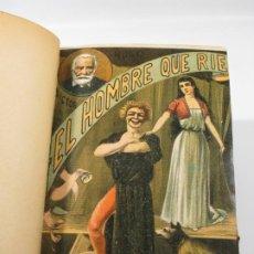 Libros antiguos: EL HOMBRE QUE RIE. VICTOR HUGO. EDICION 1901. Lote 197957333