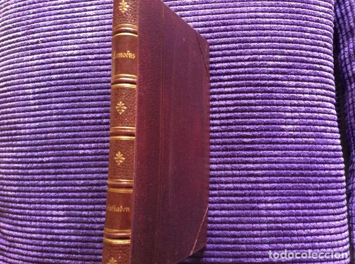 Libros antiguos: Camões, Os Lusiades: Poema Heroico-Épico. Por Karl Eitner, 1869, 1.ª edición. Muy raro - Foto 2 - 197963156
