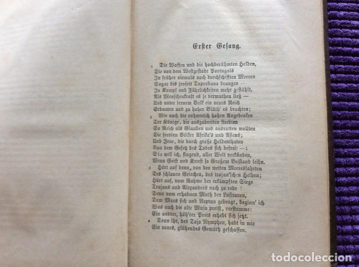 Libros antiguos: Camões, Os Lusiades: Poema Heroico-Épico. Por Karl Eitner, 1869, 1.ª edición. Muy raro - Foto 4 - 197963156