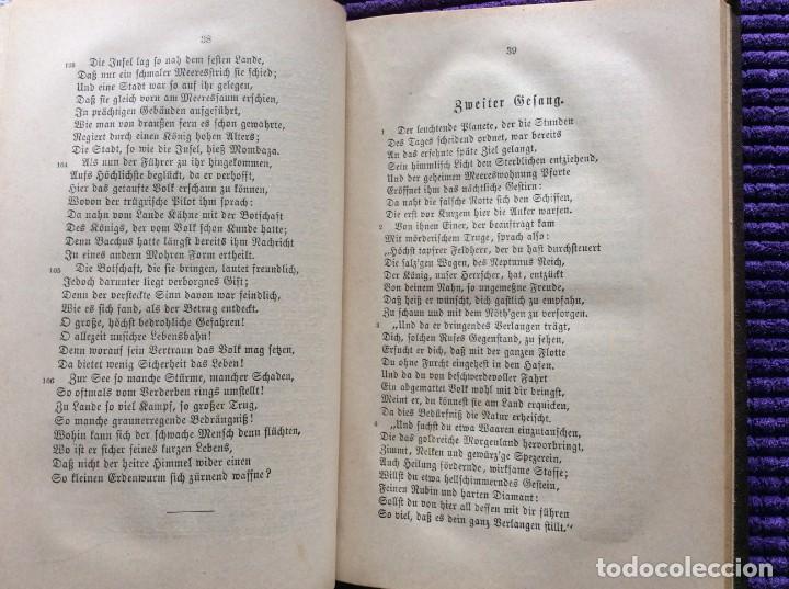 Libros antiguos: Camões, Os Lusiades: Poema Heroico-Épico. Por Karl Eitner, 1869, 1.ª edición. Muy raro - Foto 6 - 197963156