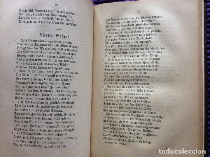 Libros antiguos: Camões, Os Lusiades: Poema Heroico-Épico. Por Karl Eitner, 1869, 1.ª edición. Muy raro - Foto 7 - 197963156