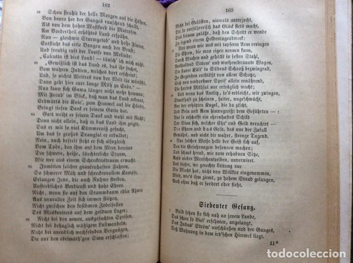 Libros antiguos: Camões, Os Lusiades: Poema Heroico-Épico. Por Karl Eitner, 1869, 1.ª edición. Muy raro - Foto 9 - 197963156