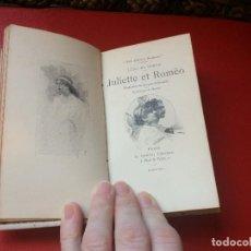 Libros antiguos: JULIETTE ET ROMÉO POR LUIGI DA PORTO COLECCIÓN GUILLAUME PARIS EN FRANCÉS S XIX . Lote 198044277