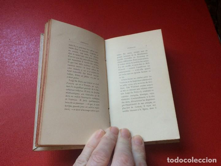 Libros antiguos: juliette et roméo por luigi da porto colección guillaume paris en francés s xix - Foto 8 - 198044277
