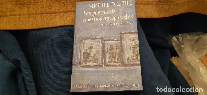 CIRCULO DE LECTORES MIGUEL DELIBES LAS GUERRAS DE NUESTROS ANTEPASADOS BUEN ESTADO PÁGINAS BLANCAS (Libros antiguos (hasta 1936), raros y curiosos - Literatura - Narrativa - Clásicos)