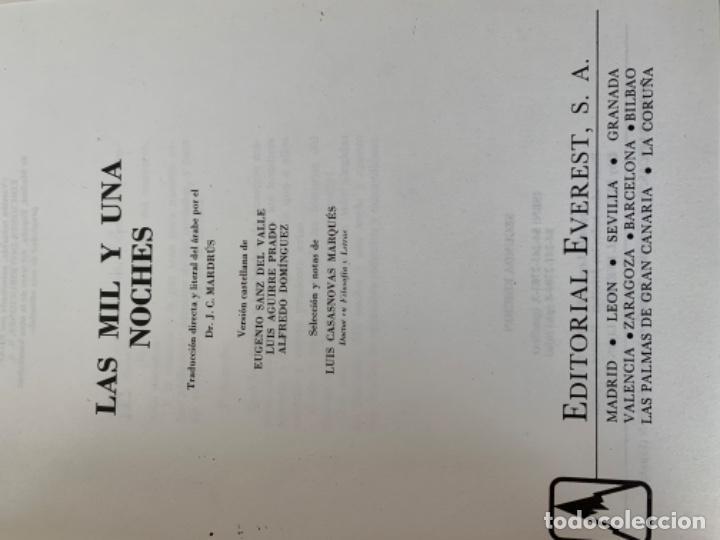 Libros antiguos: Las mil y una noche - Foto 3 - 198294356