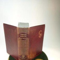 Libri antichi: PUBLIO VIRGILIO MARÓN. QUINTO HORACIO FLACCO. OBRAS COMPLETAS. AGUILAR. MADRID. 1941.. Lote 198340490
