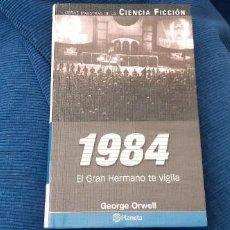Libros antiguos: PLANETA 1984 EL GRAN HERMANO GEORGE ORWELL BUEN ESTADO. Lote 210617138