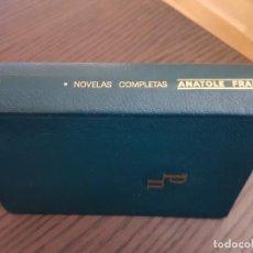 Livres anciens: NOVELAS COMPLETAS Y OTROS ESCRITOS, TOMO I FRANCE, ANATOLE. Lote 198570090