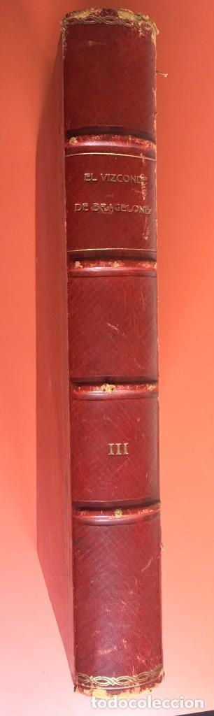 Libros antiguos: TRILOGÍA LOS TRES MOSQUETEROS - DUMAS - CROMOLITOGRAFÍAS - F. SEIX EDITOR - 3 VOL. EN 2 TOMOS - Foto 22 - 198638027
