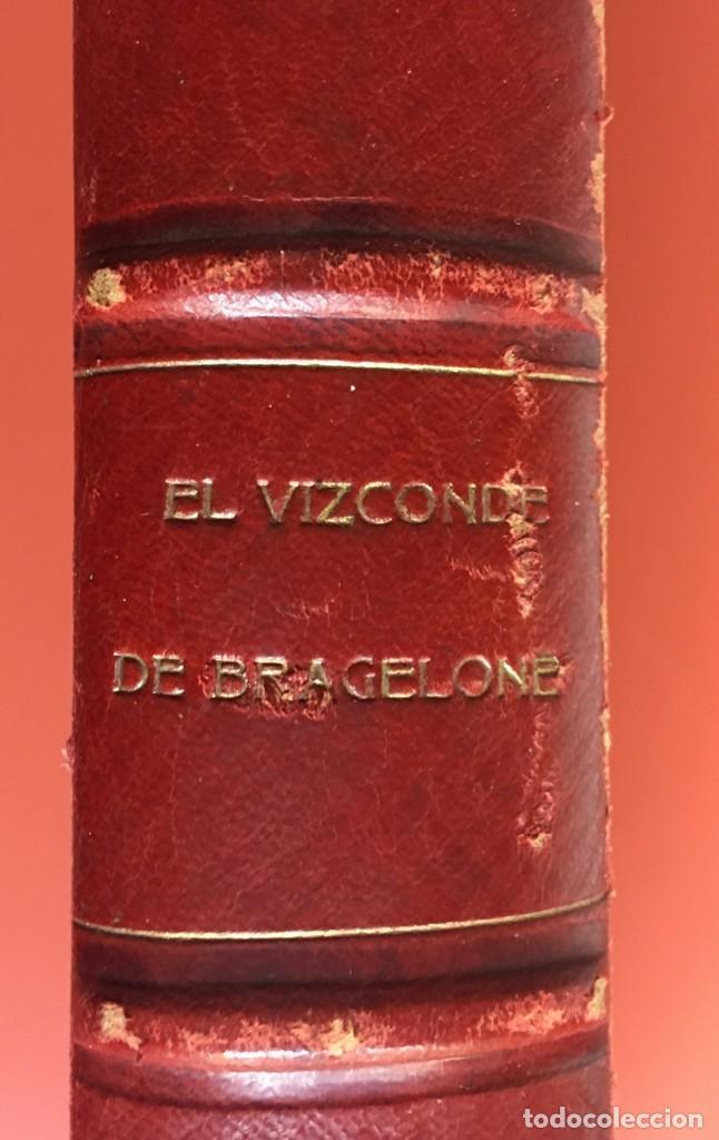 Libros antiguos: TRILOGÍA LOS TRES MOSQUETEROS - DUMAS - CROMOLITOGRAFÍAS - F. SEIX EDITOR - 3 VOL. EN 2 TOMOS - Foto 23 - 198638027