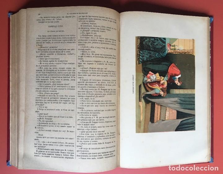 Libros antiguos: TRILOGÍA LOS TRES MOSQUETEROS - DUMAS - CROMOLITOGRAFÍAS - F. SEIX EDITOR - 3 VOL. EN 2 TOMOS - Foto 28 - 198638027