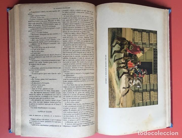 Libros antiguos: TRILOGÍA LOS TRES MOSQUETEROS - DUMAS - CROMOLITOGRAFÍAS - F. SEIX EDITOR - 3 VOL. EN 2 TOMOS - Foto 29 - 198638027