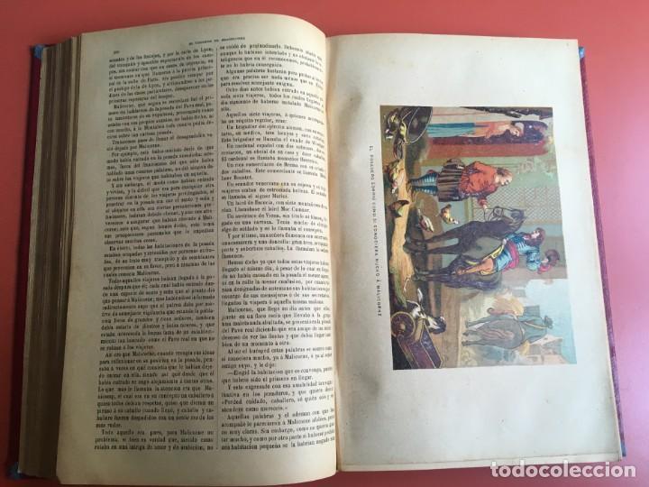 Libros antiguos: TRILOGÍA LOS TRES MOSQUETEROS - DUMAS - CROMOLITOGRAFÍAS - F. SEIX EDITOR - 3 VOL. EN 2 TOMOS - Foto 32 - 198638027