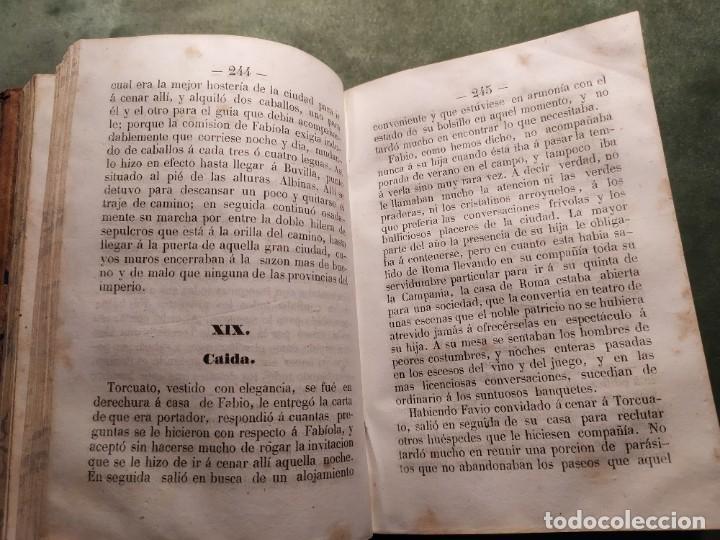 Libros antiguos: 1861. Fabiola o la iglesia de las catacumbas. Cardenal Wisseman. Completo. - Foto 6 - 198848272