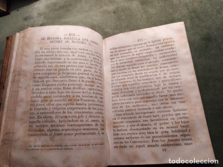 Libros antiguos: 1861. Fabiola o la iglesia de las catacumbas. Cardenal Wisseman. Completo. - Foto 7 - 198848272