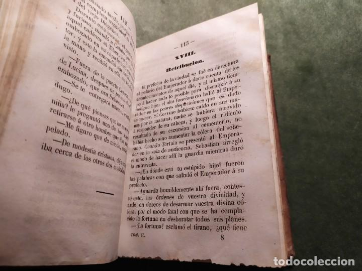Libros antiguos: 1861. Fabiola o la iglesia de las catacumbas. Cardenal Wisseman. Completo. - Foto 11 - 198848272