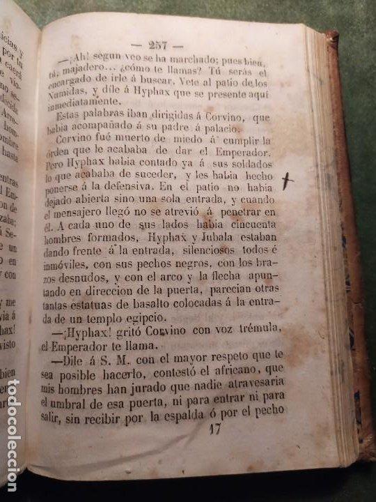Libros antiguos: 1861. Fabiola o la iglesia de las catacumbas. Cardenal Wisseman. Completo. - Foto 12 - 198848272