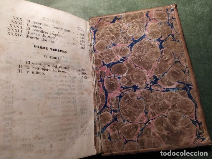 Libros antiguos: 1861. Fabiola o la iglesia de las catacumbas. Cardenal Wisseman. Completo. - Foto 13 - 198848272
