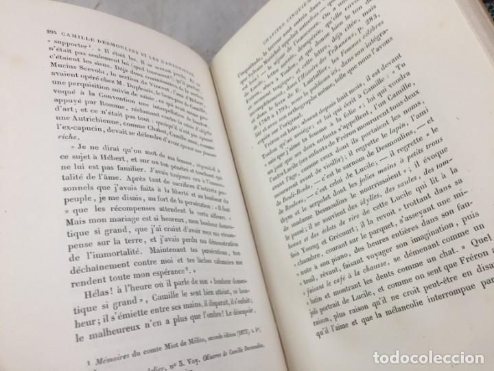 Libros antiguos: Camille Desmoulins, Lucile Desmoulins, Etude sur les Dantonistes, documents nouveaux. 1875 Claretie - Foto 5 - 199109287