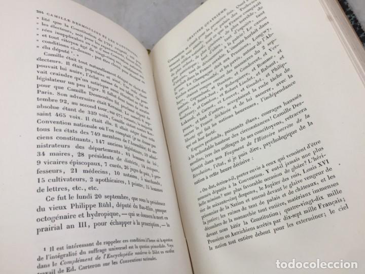 Libros antiguos: Camille Desmoulins, Lucile Desmoulins, Etude sur les Dantonistes, documents nouveaux. 1875 Claretie - Foto 6 - 199109287