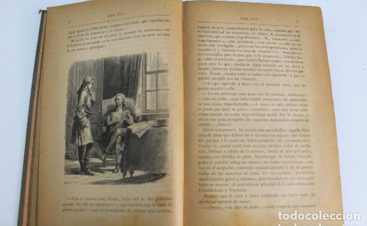 Libros antiguos: L-3389. ROB ROY, WALTER SCOTT. C. VERDAGUER IMPRESOR, EDITOR. BARCELONA. 1882. 2 TOMOS. - Foto 3 - 199587131