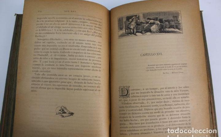 Libros antiguos: L-3389. ROB ROY, WALTER SCOTT. C. VERDAGUER IMPRESOR, EDITOR. BARCELONA. 1882. 2 TOMOS. - Foto 7 - 199587131