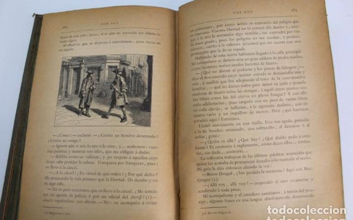 Libros antiguos: L-3389. ROB ROY, WALTER SCOTT. C. VERDAGUER IMPRESOR, EDITOR. BARCELONA. 1882. 2 TOMOS. - Foto 8 - 199587131