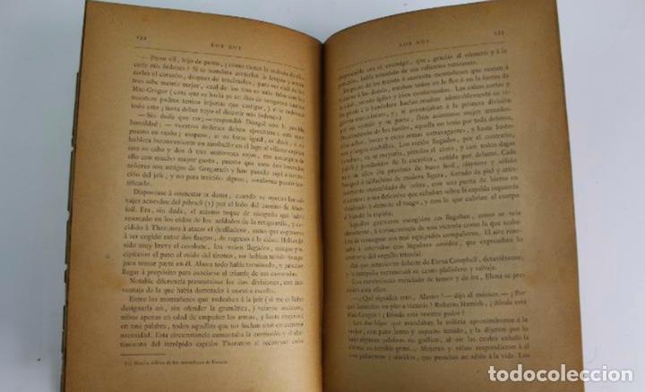 Libros antiguos: L-3389. ROB ROY, WALTER SCOTT. C. VERDAGUER IMPRESOR, EDITOR. BARCELONA. 1882. 2 TOMOS. - Foto 11 - 199587131